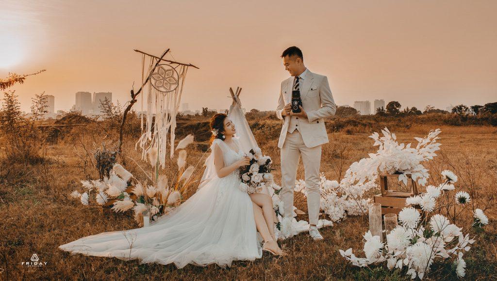 Album ảnh cưới ngoại cảnh