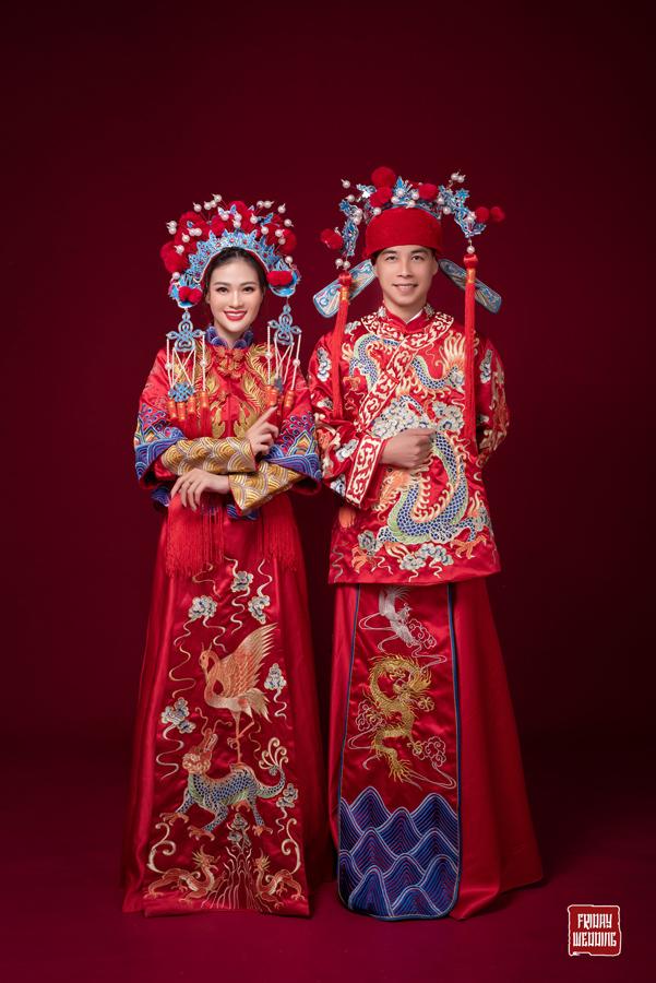 Váy cưới cổ trang - Phong cách cổ trang