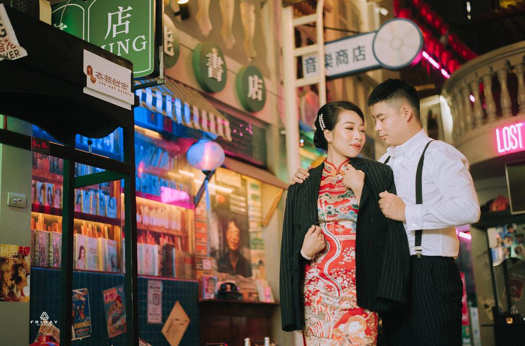 Chụp ảnh cưới kiểu Trung Quốc - HongKong